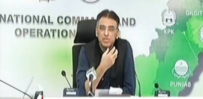 Planning Minister Asad Umer makes important statement over easing coronvirus lockdown across country