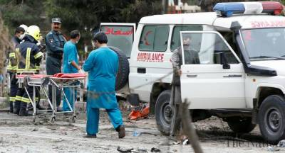 Four back to back explosions rock Afghanistan capital Kabul