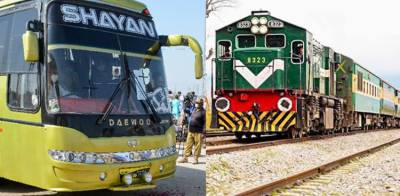 Federal Cabinet takes important decision over the resumption of inter provincial transport and Rail Service across the country