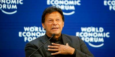 Pakistani PM Imran Khan addresses emergency session of World Economic Forum