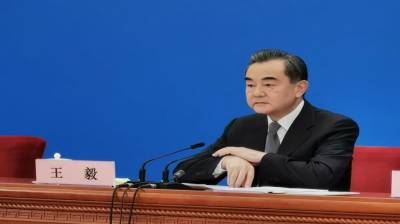 Chinese Foreign Minister Wang Yi message to his Pakistani counterpart
