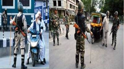Muslims across entire Occupied Kashmir celebrated Eid ul Fitr with Pakistan and NOT with Indian government announcement