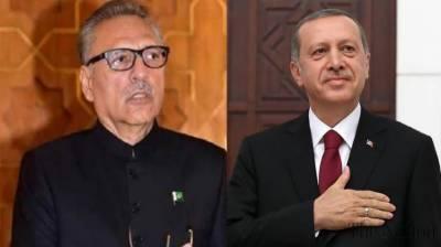 Turkish President Tayyip Erdogan held important telephonic call with Pakistani counterpart