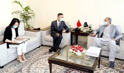 Hafeez Shaikh thanks China for helping overcome Coronavirus
