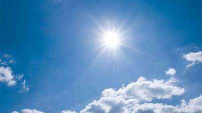 Mainly hot and dry weather is expected in most parts of the country