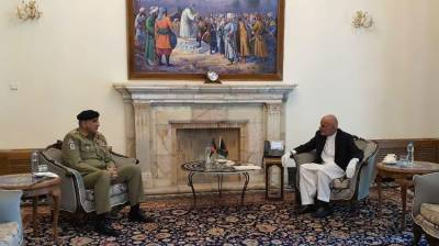 Army Chief, Afghan leadership discuss Afghanistan peace process