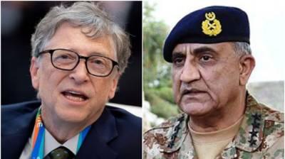 Bill Gates phones Gen Qamar, hails Pakistan Army's role in polio eradication drive