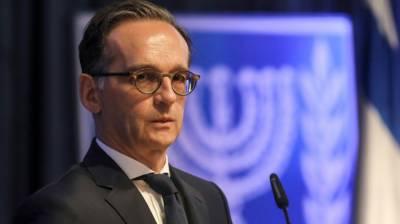 German FM voices serious concerns over Israeli annexation plan