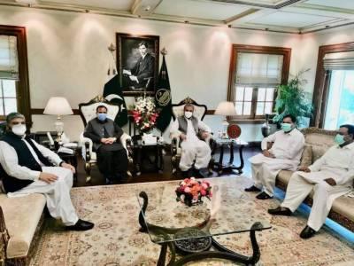 FM Qureshi calls on CM Punjab