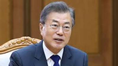 S.Korean president calls on DPRK to find breakthrough together via dialogue