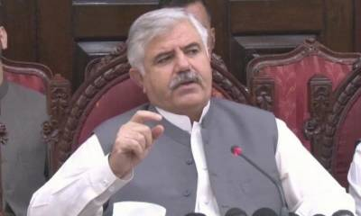 KP CM expresses grief over death of doctor in Battagram hospital due to coronavirus infection