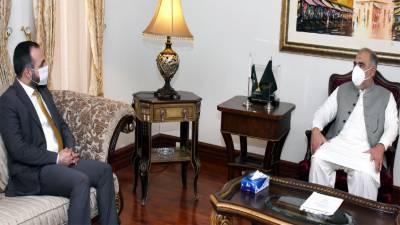 NA Speaker calls for intensifying contacts b/w legislatures of Pakistan, Afghanistan