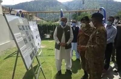 Chairman NDMA visits Muzaffarabad, reviews Govt measures to contain coronavirus