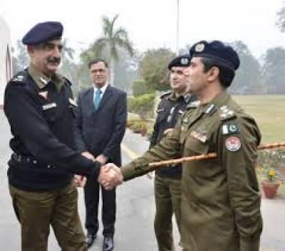 IGP inaugurates nine projects for Rawalpindi Police