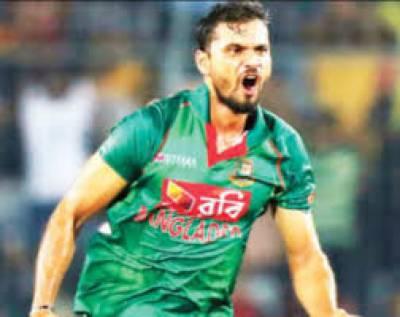 Former Bangladesh captain Mashrafe tests positive for virus