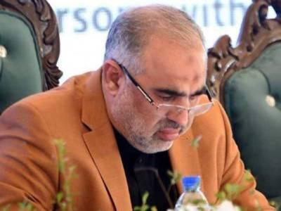 NA Speaker Asad inaugurated multi-purpose health project in Swabi