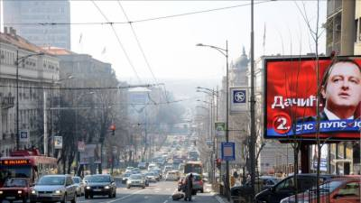 Serbia general elections being held today