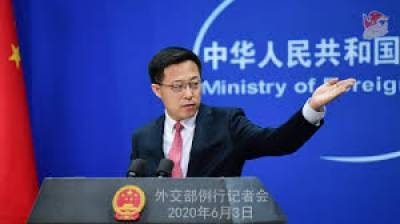 Beijing says it is in talks with India to resolve border conflict