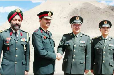 Indian Military Corps Commander land on Chinese side of LAC for negotiations following worst clash of 5 decades