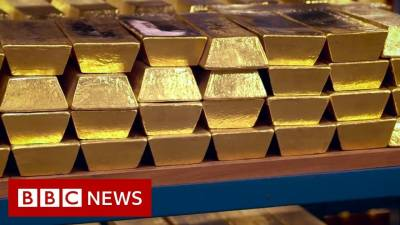 Gold price jump by Rs1100 to Rs103,100 per tola