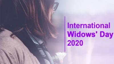 UN International Day of Widows being observed today
