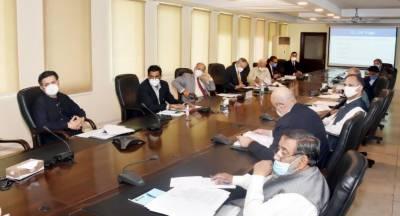 Cabinet Committee meeting of SoEs held in Islamabad