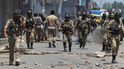More four youth arrested by Indian troops in IOK
