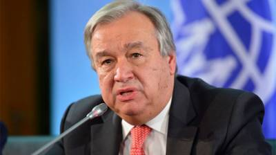 UN chief calls on Israel to abandon West Bank annexation plan
