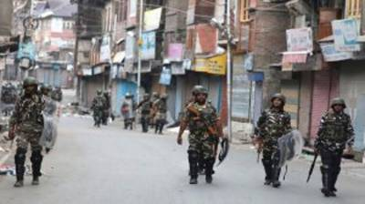 Indian troops launch massive cordon, search operation in Poonch