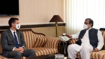 Pakistan lauds UK Govt's efforts to combat COVID-19: Shibli