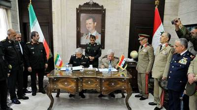 Iran, Syria sign agreement to expand military, security cooperation July 09, 2020