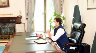 Chairman Prime Minister's inspection team Ahmed Yar Hiraj calls on PM Imran July 10, 2020