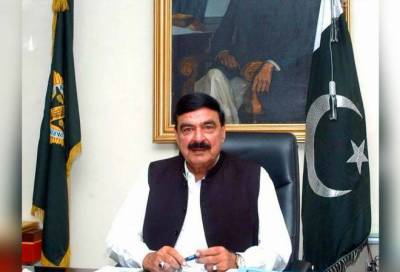 Sheikh Rashid presides a high level meeting of Lai Nullah Project in Rawalpindi July 13, 2020