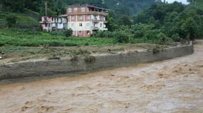Floods kill two in Turkey July 14, 2020