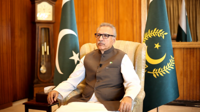 President appreciates theme of song highlighting just struggle of people of Occupied Kashmir July 14, 2020