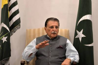 AJK Govt to plant saplings on 12,000 acre in monsoon: Raja Farooq Haider July 17, 2020