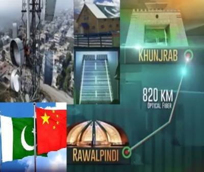 17 mln people to get benefit from China Pakistan Fiber Optic Project July 18, 2020