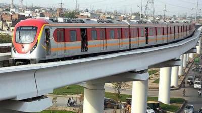 Lahore's Orange Line Metro Train to be operational in next three months July 18, 2020