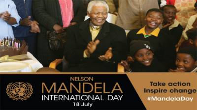 Nelson Mandela Int'l Day being observed today July 18, 2020