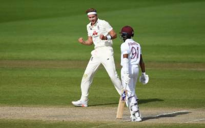 England vs West Indies 2nd Test Day 4: Broad's new-ball rampage leaves England with slim hope of victory on final day July 20, 2020