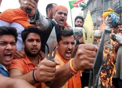 India planning large-scale killings in IOK through Hindutva terrorists July 20, 2020