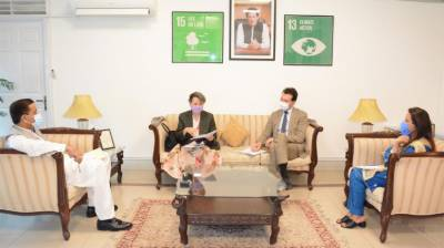 EU expresses desire to contribute to Pakistan's green sector through enhanced investment July 22, 2020