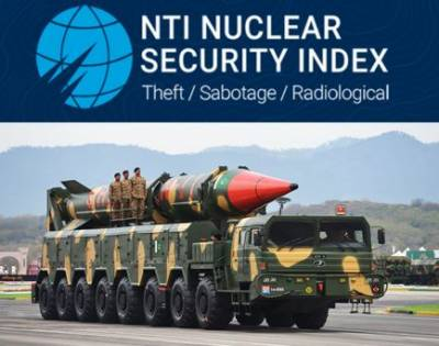 Pakistan most improved country in nuclear security: NTI July 23, 2020