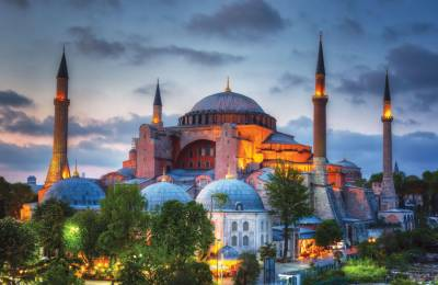 Hagia Sophia holds first Muslim Friday prayers in 86 years July 24, 2020