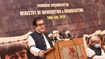 Pakistan dedicates all efforts to project Kashmir dispute at int'l fora: Information Minister July 24, 2020