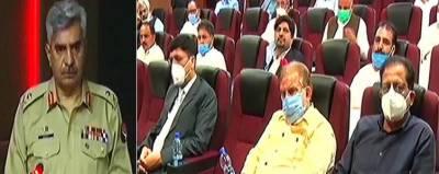 Delegation of Journalists from AJK visits ISPR July 25, 2020