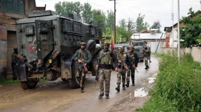 Indian troops launch CASO in Srinagar, July 25, 2020