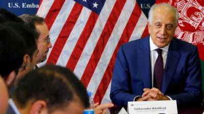 US sends Khalilzad to push ahead peace talks b/w Afghan Govt & Taliban July 27, 2020
