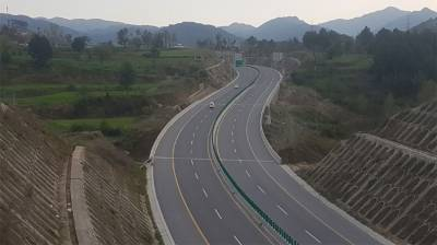Construction work of Havelian-Thakot section of Hazara Motorway completed July 28, 2020