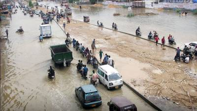 Sindh govt released Rs463mn for rain emergency July 29, 2020